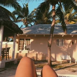 Second day sunbaths